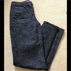 DKNY Jeans patterned jeggings